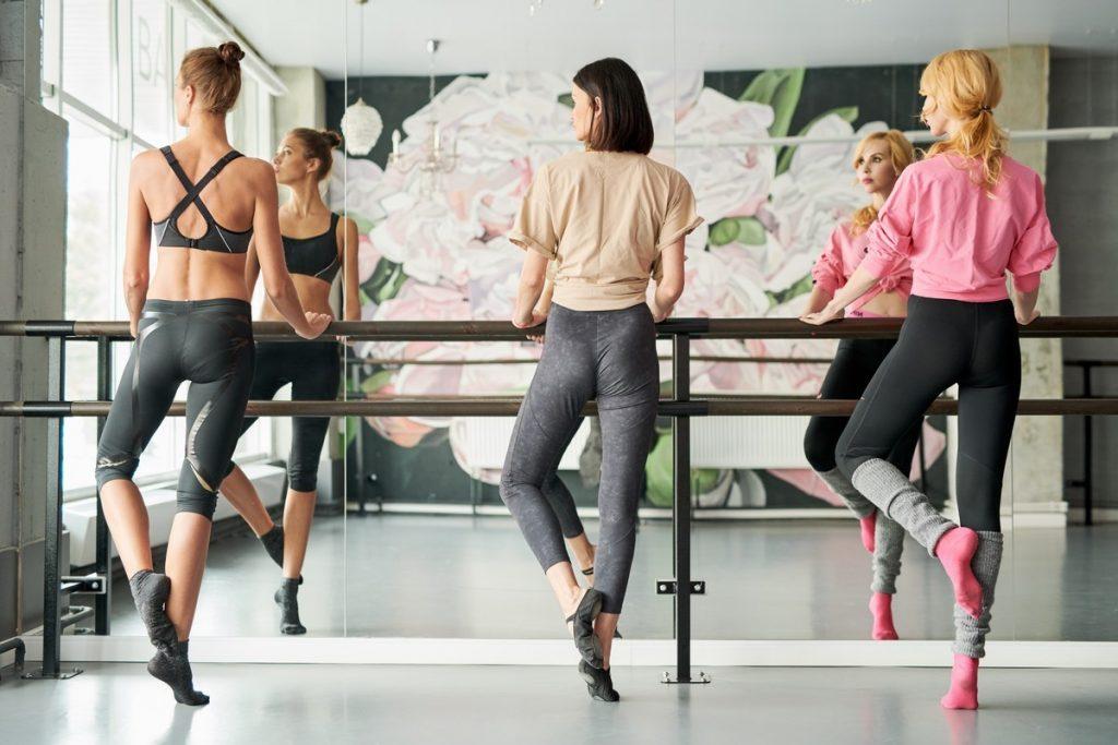 Women Doing Ballet